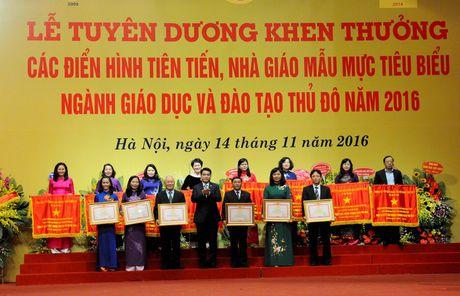 Giao duc - Dao tao Thu do: Huong toi van, the, my - Anh 1