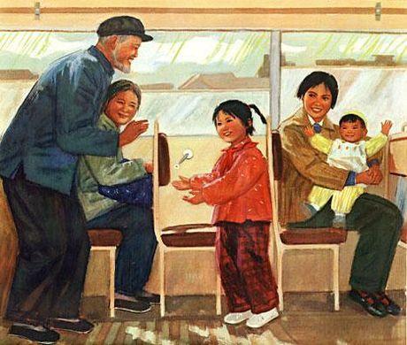 Co gai tre di nang go nhuong ghe cho cu ong va 'cai gia' cua long bao dung, thien luong - Anh 2