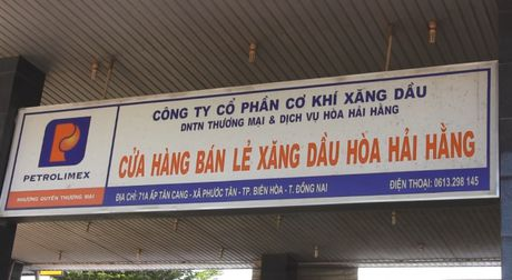 Dong Nai: Bat qua tang cua hang xang dau gian lan - Anh 1