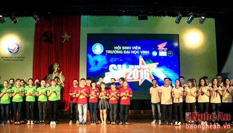 Chung ket 'SV Dai hoc Vinh 2016' se dien ra vao toi nay (16/11) - Anh 2