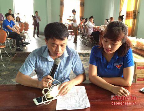 Thi xa Cua Lo: Hon 700 thanh nien tham gia hien mau tinh nguyen - Anh 2