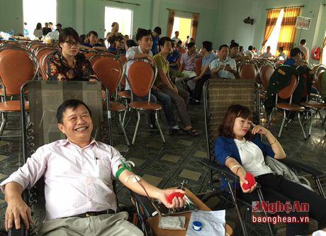 Thi xa Cua Lo: Hon 700 thanh nien tham gia hien mau tinh nguyen - Anh 6