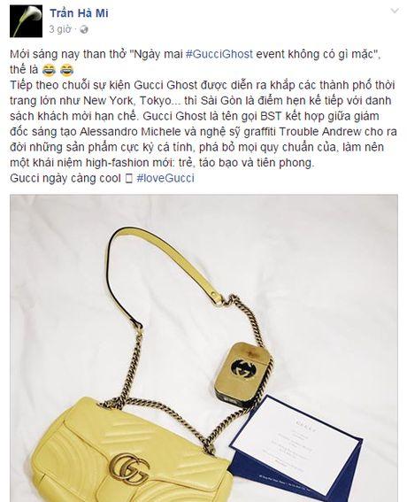 Dan sao khung khoe do chuan bi 'tray hoi' cho su kien #GucciGhost - Anh 8