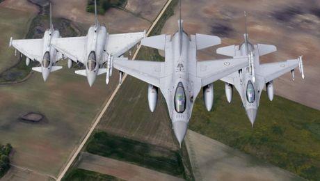 Tong thong dac cu Trump rut quan khoi NATO 'lam qua' cho Nga? - Anh 1
