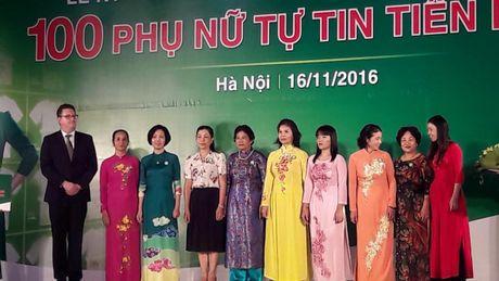 100 phu nu duoc ton vinh voi giai thuong Phu nu tu tin tien buoc - Anh 2