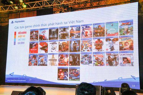 PlayStation 4 moi ra mat tai Viet Nam - Anh 5