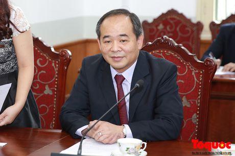 Thu truong Le Khanh Hai tiep Thong doc tinh Mie, Nhat Ban - Anh 1