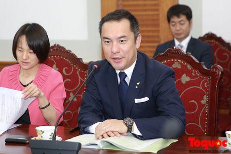 Thu truong Le Khanh Hai tiep Thong doc tinh Mie, Nhat Ban - Anh 2