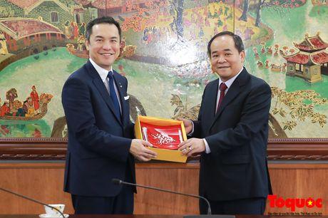 Thu truong Le Khanh Hai tiep Thong doc tinh Mie, Nhat Ban - Anh 4