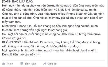 Can trong chieu lua ban iPhone nhat duoc gia sieu re - Anh 1