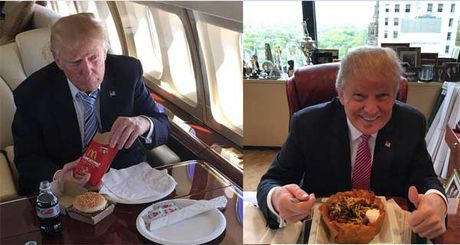 Bi an thuc don cua Trump - Anh 1