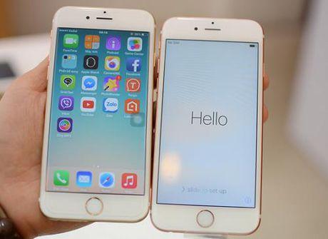 iPhone 6 va iPhone 6s gap loi nang ? - Anh 1