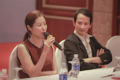 Minh tinh Han Quoc Moon Sori toi Viet Nam day dien xuat - Anh 10