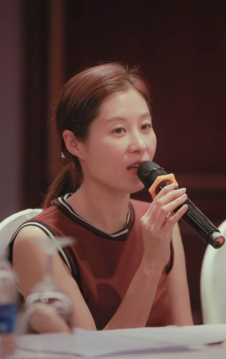 Minh tinh Han Quoc Moon Sori toi Viet Nam day dien xuat - Anh 1