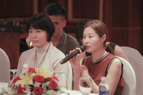 Minh tinh Han Quoc Moon Sori toi Viet Nam day dien xuat - Anh 7
