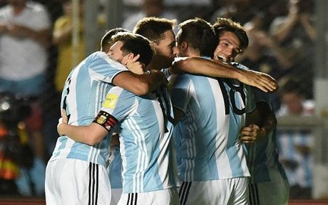 Messi ruc sang, Argentina danh bai Colombia - Anh 1