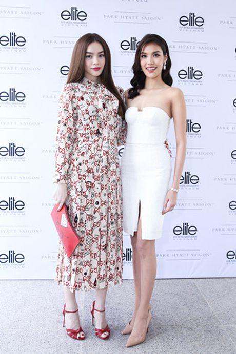 Ho Ngoc Ha mung Lan Khue len chuc CEO cua Elite phia Nam - Anh 4