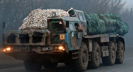 Ukraine thu nghiem thanh cong mot loai ten lua tu che doi moi - Anh 1