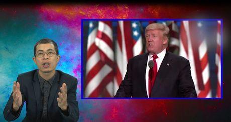 Rap News: Ai biet chu ngo, Donald Trump tro thanh nguoi chien thang - Anh 1