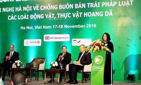 Khai mac hoi nghi quoc te ve chong buon ban dong vat, thuc vat hoang da - Anh 1
