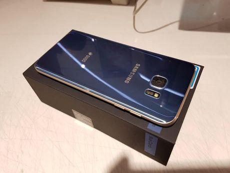Dap hop Samsung Galaxy S7 Edge mau xanh san ho - Anh 6
