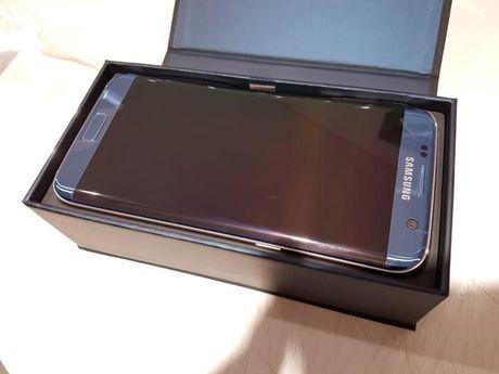 Dap hop Samsung Galaxy S7 Edge mau xanh san ho - Anh 8