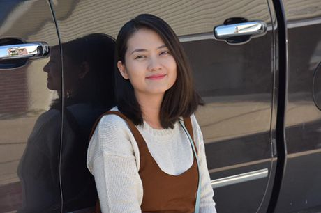 'Kieu nu' Ngoc Lan lan dau khoe bung bau o My - Anh 6