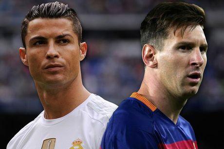 Tinh than tap the, Ronaldo kem xa Messi - Anh 1