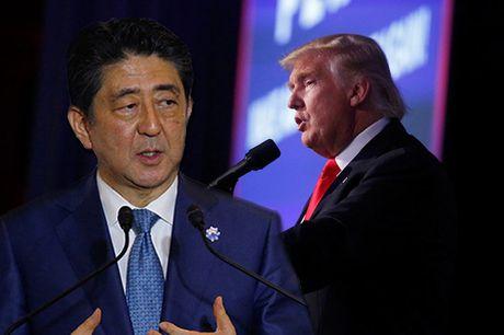 Thu tuong Abe se gap ong Donald Trump vao ngay hom nay - Anh 1