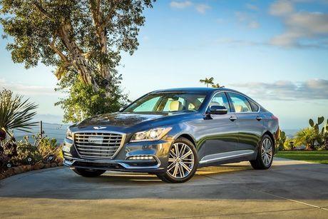 Hyundai 'nha hang' xe sang Genesis G80 phien ban 2018 - Anh 1