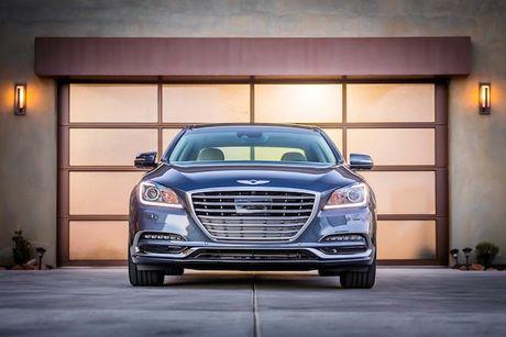 Hyundai 'nha hang' xe sang Genesis G80 phien ban 2018 - Anh 2