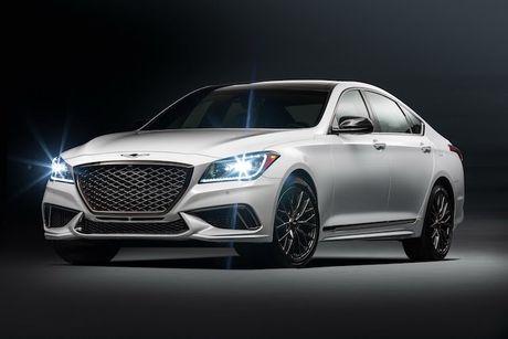 Hyundai 'nha hang' xe sang Genesis G80 phien ban 2018 - Anh 5