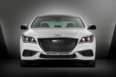 Hyundai 'nha hang' xe sang Genesis G80 phien ban 2018 - Anh 6