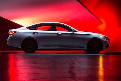 Hyundai 'nha hang' xe sang Genesis G80 phien ban 2018 - Anh 7