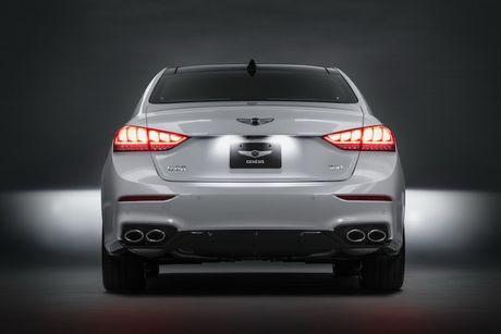 Hyundai 'nha hang' xe sang Genesis G80 phien ban 2018 - Anh 8