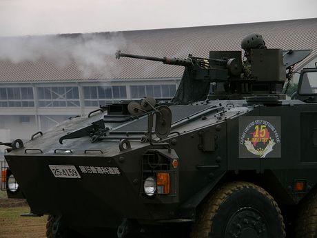 Xe boc thep Type 96 roi banh khi chay, Nhat Ban 'xau ho' - Anh 12