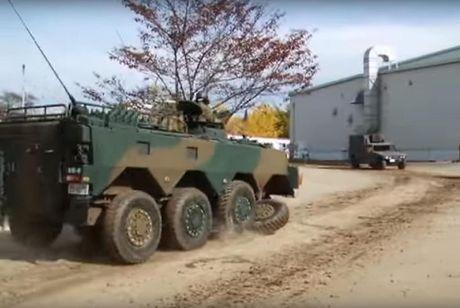 Xe boc thep Type 96 roi banh khi chay, Nhat Ban 'xau ho' - Anh 4