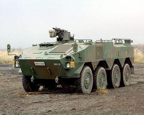Xe boc thep Type 96 roi banh khi chay, Nhat Ban 'xau ho' - Anh 8
