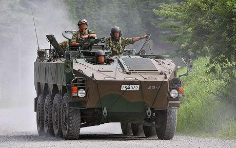 Xe boc thep Type 96 roi banh khi chay, Nhat Ban 'xau ho' - Anh 9