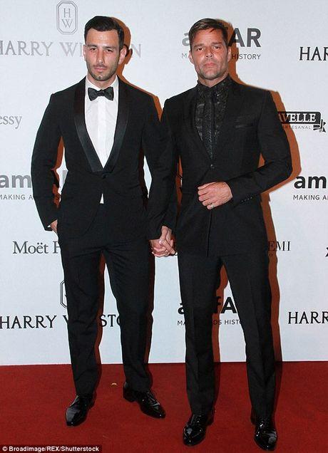 Ricky Martin cau hon ban trai dong gioi nguoi Arab - Anh 1