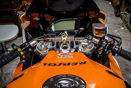 Can canh sieu moto Honda CBR1000RR do 'khung' tai VN - Anh 6