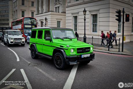 Sieu SUV Mercedes-Benz G63 'mau doc' tai Chau Au - Anh 1