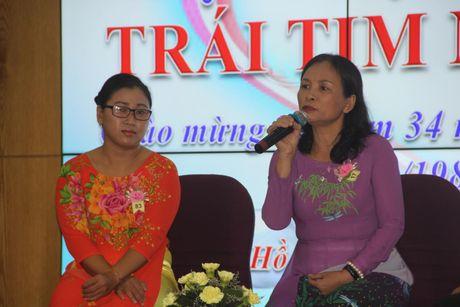 TP HCM: Xuc dong buoi giao luu Trai tim nguoi Thay - Anh 1