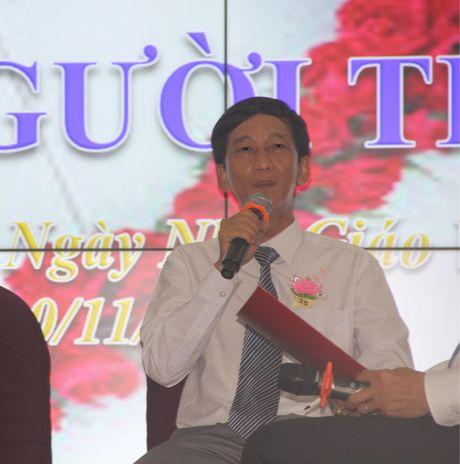 TP HCM: Xuc dong buoi giao luu Trai tim nguoi Thay - Anh 2