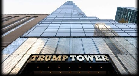 May mu bao trum len cuoc gap dau tien giua Trump va Abe - Anh 1