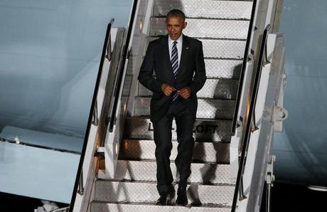 Ong Obama chao tam biet ba Merkel - Anh 1