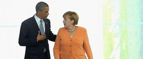 Ong Obama chao tam biet ba Merkel - Anh 2