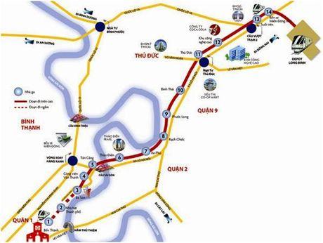 Lien danh Sumitomo Mitsui-Cienco 4 trung goi thau 4.850 ty dong tuyen metro so 1 - Anh 2