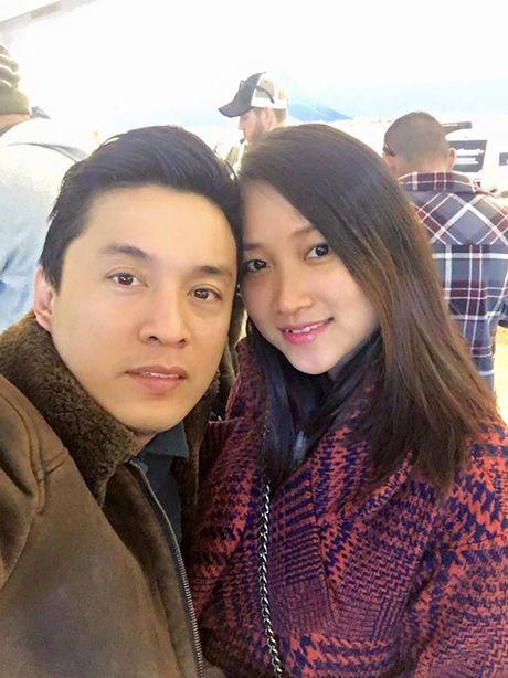 Vo Lam Truong mang bau 5 thang - Anh 1