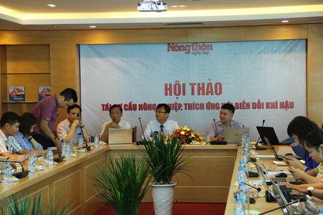 Tim 'loi thoat' cho nong nghiep khi bien doi khi hau dien bien kho luong - Anh 1